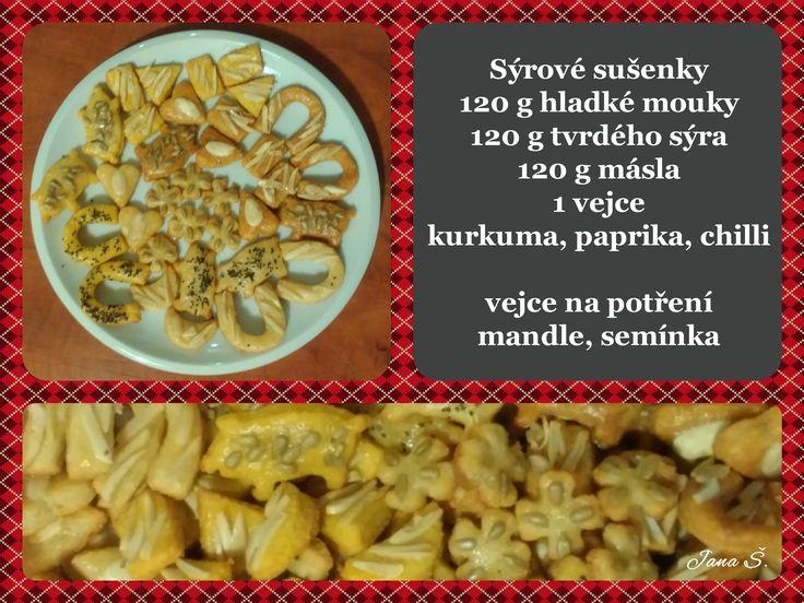 sýrové sušenky k vínu