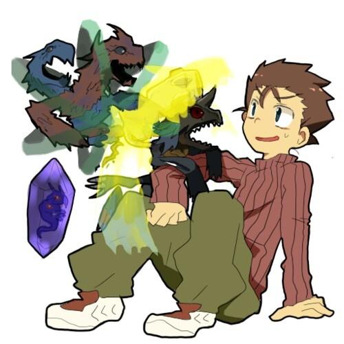 Digimon Ryo And Ken Zeedmillenniummon, ryo akiyama programs pinterest