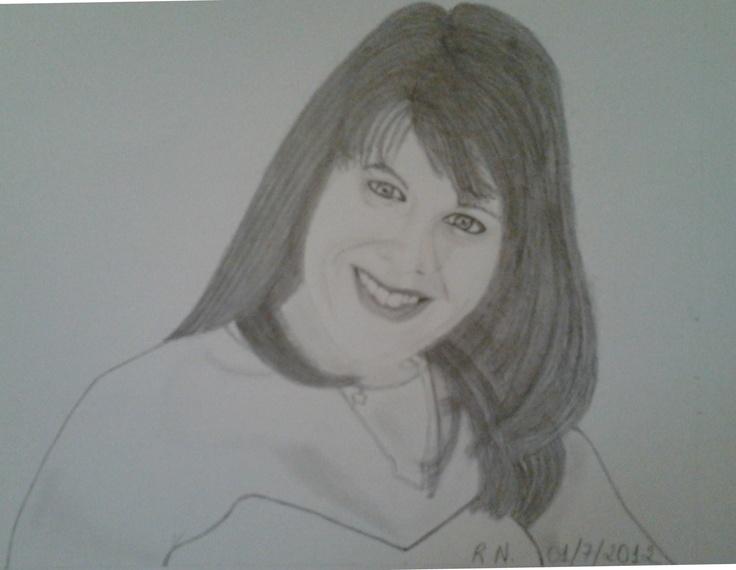 My friend Cintia Caires