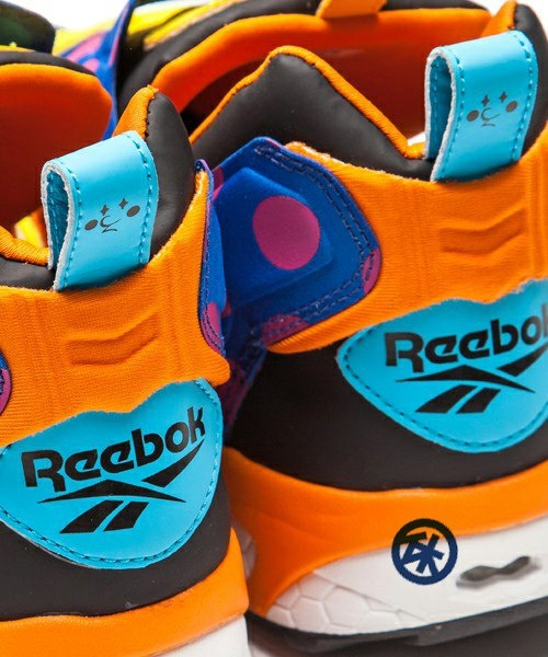 Atmos is launching its special Reebok pump fury in July 2013. Collaborated with Japanese street artist Jun Watanabe, the colors and details are exceptional. This unisex sneakers is available from size 23-30cm. Preorder yours today. It's never too early to get ready for a colorful summer!  #reebok #pumpfury #pump #atmos #japan #sneakers #junwatanabe #streetart #polkadot #design