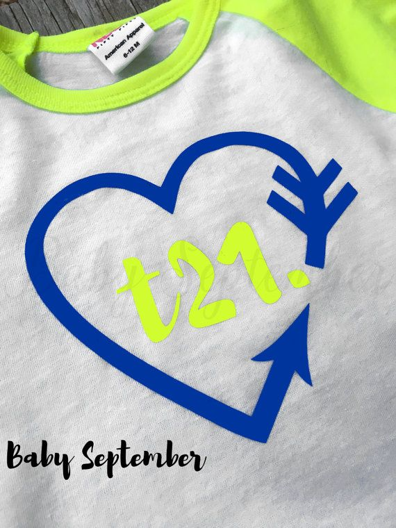 World Down Syndrome Day t-shirt.