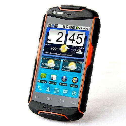 Smartphone Discovery V5 - Resistente a água, poeira e impacto - com Android 4.0, Dois Chips, Desbloqueado