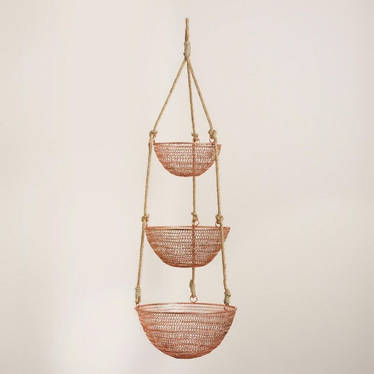 Diy Hanging Fruit Basket Ideas And Pictures: 1000+ Ideas About Hanging Fruit Baskets On Pinterest