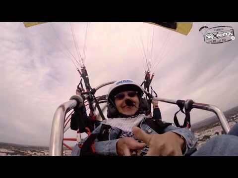 #SkyXpediton #RiaFormosa #Paratrike  Ute Mehrtens Flug - Ute and family made a beautifull flug mit uns!!!