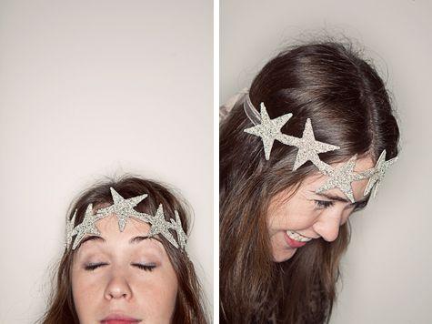 star crown for birthday girl.
