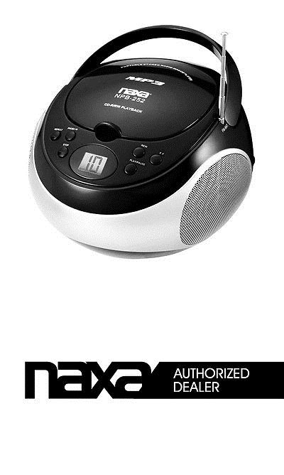 CD Players and Recorders: Naxa - Portable Black Mp3/Cd/Am/Fm Player BUY IT NOW ONLY: $31.06