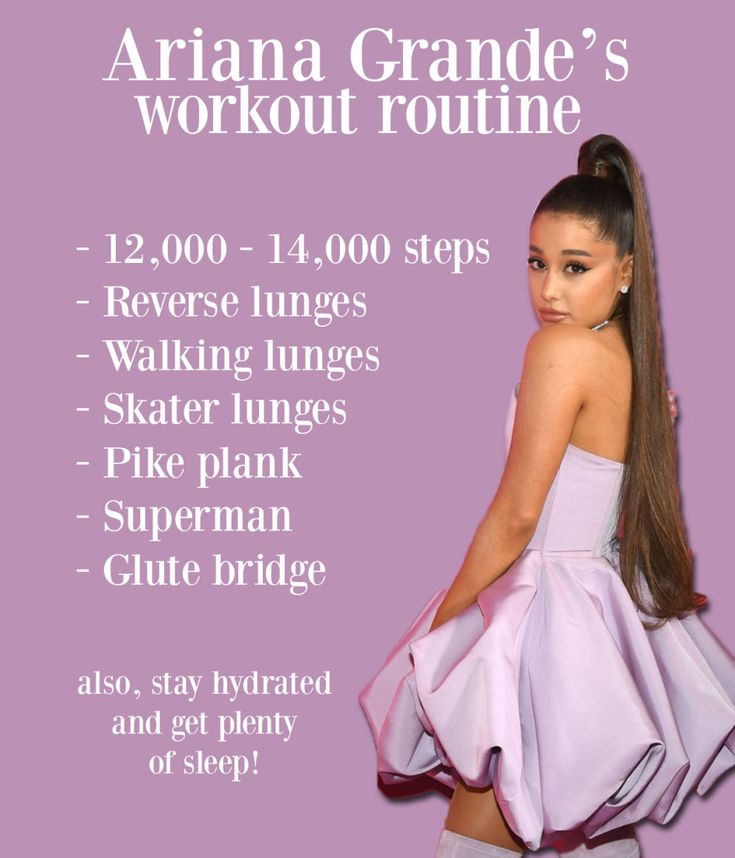 I Worked Out Like Ariana Grande For A Month And Here's What It Was Like