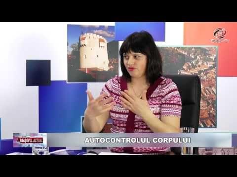 """""""Autocontrolul corpului"""", Brașovul Actual, 28.03.2017, Niculina Gheorghiță - YouTube"""