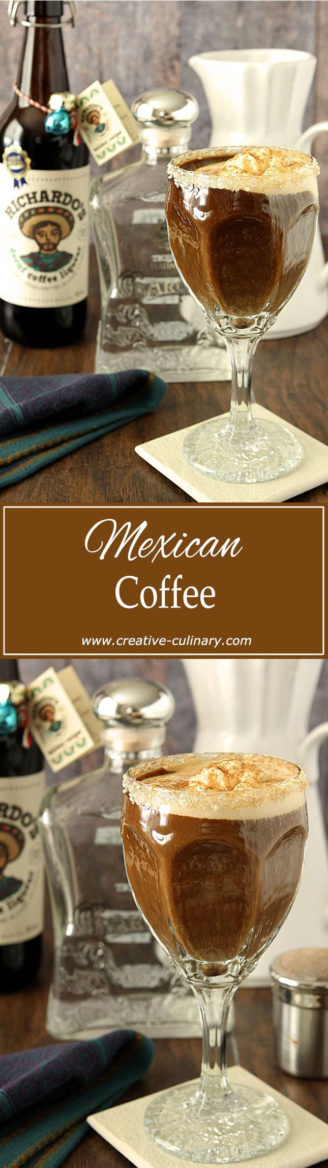 No trip to Cabo San Lucas necessary; now you can make this iconic Mexican Coffee at home! via @creativculinary