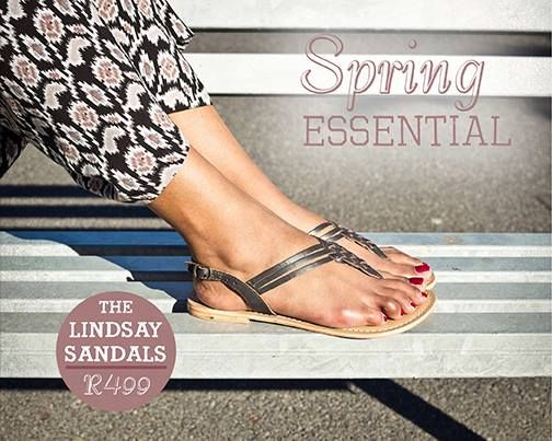 Lindsay Sandals- Old Khaki Essential