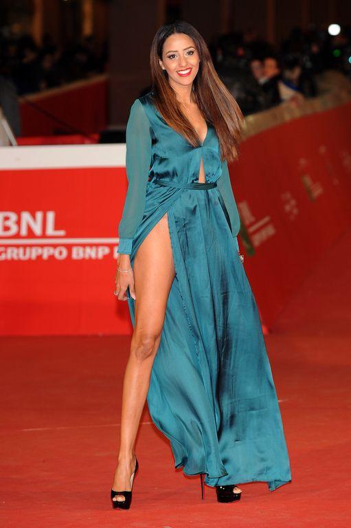 Zaina Driti à l'avant-première de Carol au Festival du film de Rome le 22 octobre 2015