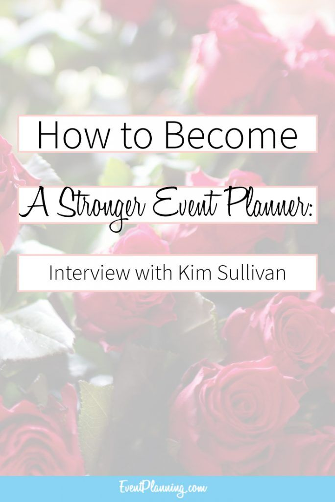how to become an event planner canada