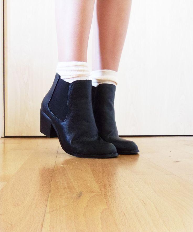 Topshop Chelsea boots. Winter must.