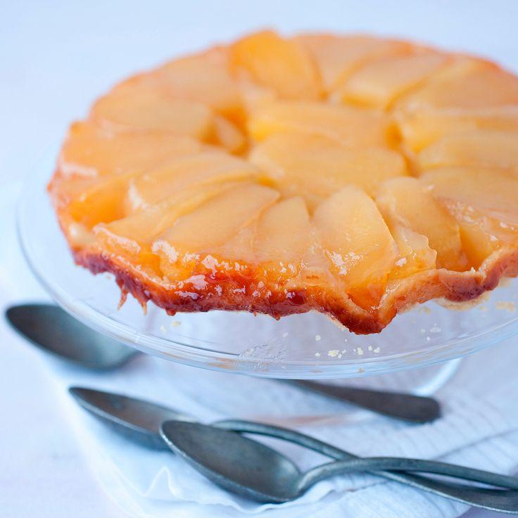 Découvrez la recette Gâteau aux pommes léger sur cuisineactuelle.fr.