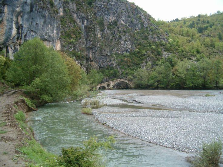 Γεφύρι Πορτίτσας Σπήλαιο-Γρεβενά