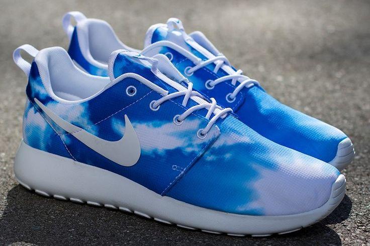 blue sky roshe 03 Nike Roshe Run Print Sunrise & Blue Sky