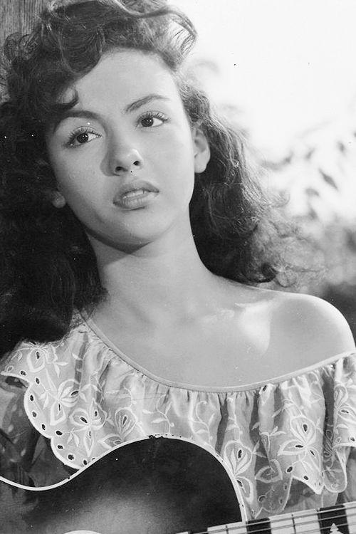 Rita Moreno, 1950, age 19.