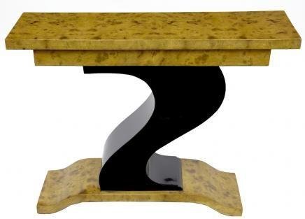 Art Deco Z Shape Console Table Modernist Furniture 1920s