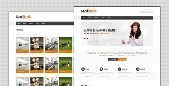 GoodSimple - Clean Business HTML Template - Business Corporate
