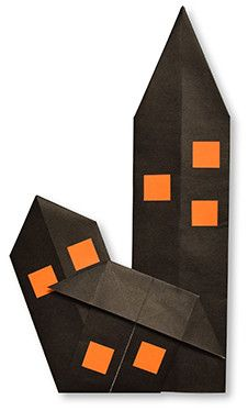 Origami Haunted House
