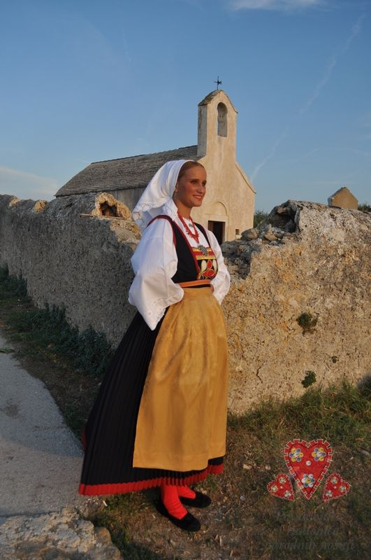 Dalmatia, Pašman Island (Nevidjane) © Rental workshop of national costumes