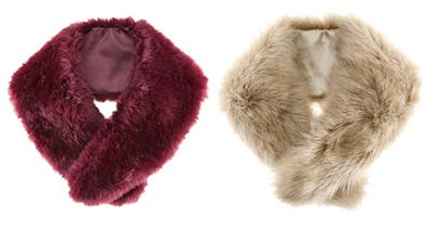 Give style - A great gift for the fashion forward person on your list is a faux fur collar. Find some fabulous ones for under $25.