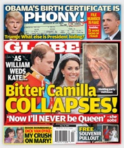 Globe Magazine editors