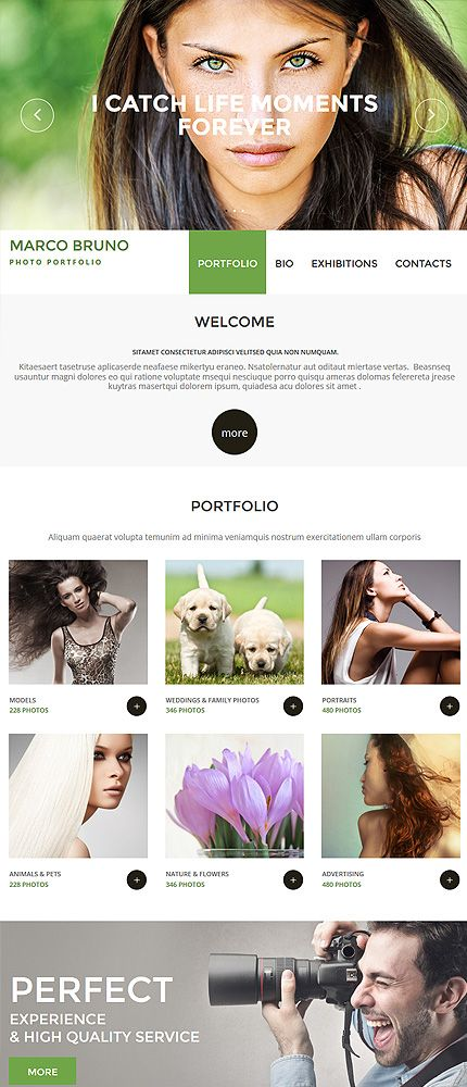 Design Needs Time... Art & Photography website inspirations at your coffee break? Browse for more Photo Gallery #templates! // Regular price: $199 // #Art #Photography #PhotoGallery #portfolio #photographer #photos #photography #camera #art #models #cameras #company #gallery #picture #pictures #digital #Marco #Bruno