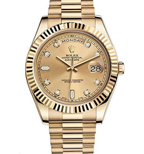 Rolex Day-Date II 2 President Yellow Gold Watch 218238 https://www.carrywatches.com/product/rolex-day-date-ii-2-president-yellow-gold-watch-218238-2/ Rolex Day-Date II 2 President Yellow Gold Watch 218238  #diamondwatchesformen #rolexwatchesformen