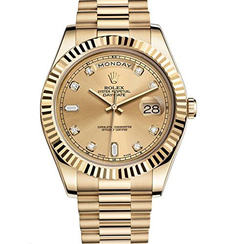 Rolex Day-Date II 2 President Yellow Gold Watch 218238 https://www.carrywatches.com/product/rolex-day-date-ii-2-president-yellow-gold-watch-218238-2/ Rolex Day-Date II 2 President Yellow Gold Watch 218238  #diamondwatchesformen #rolexwatchesformen