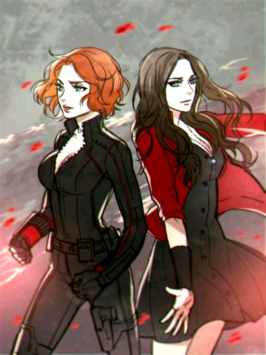 Black Widow & The Scarlet Witch