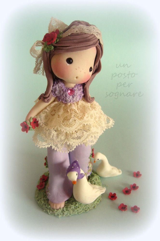 porcellana fredda,doll,bamboline,paperelle,