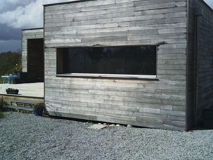 bardage peuplier gris enveloppes ext rieures. Black Bedroom Furniture Sets. Home Design Ideas