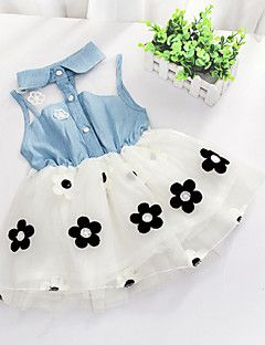Girl's+Summer/Spring/Fall+Micro-elastic+Medium+Sleeveless+Dresses+(Cotton)+–+USD+$+34.99