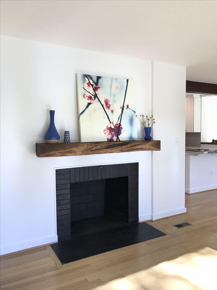 Best 25 Modern Fireplace Mantles Ideas On Pinterest