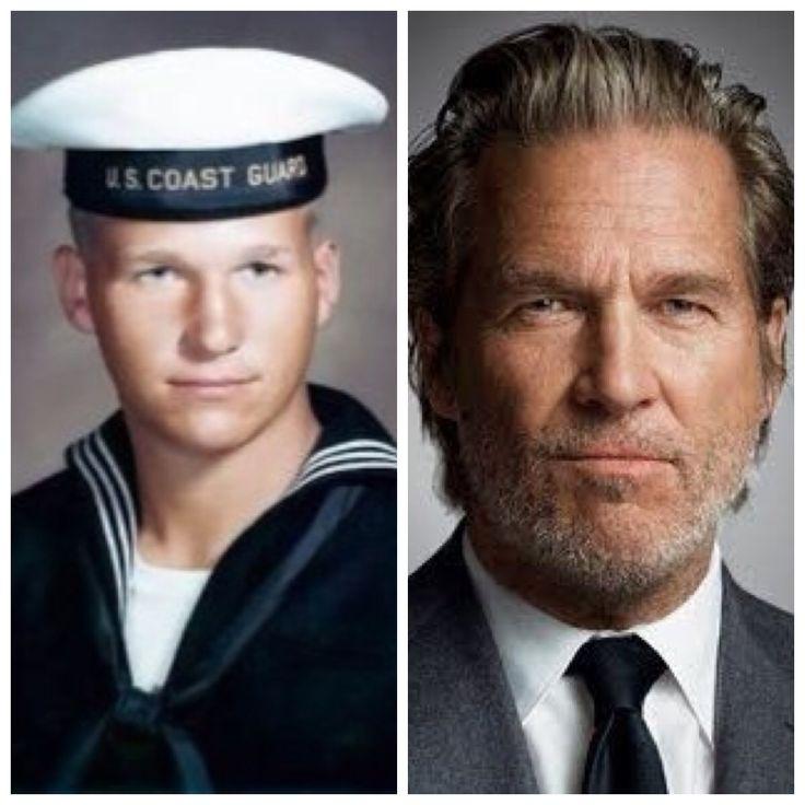 Jeff Bridges-Coast Guard-1968-served 8 years (Actor)