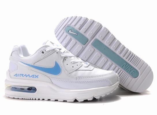 Nike Air Max Ltd White-blue 316391 022