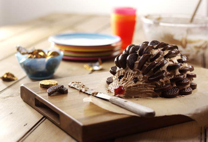 Porco espinho de chocolate