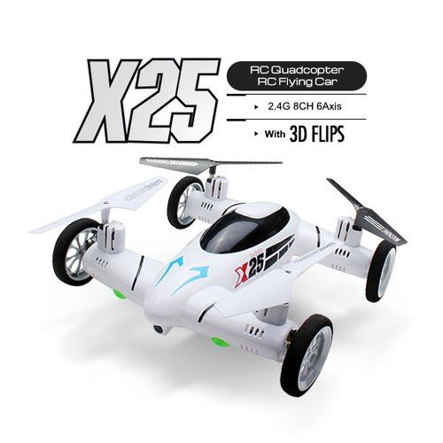 This UAV Flying Car SY X25  is an inexpensive drone for beginner pilots. http://goo.gl/oy6Bqb