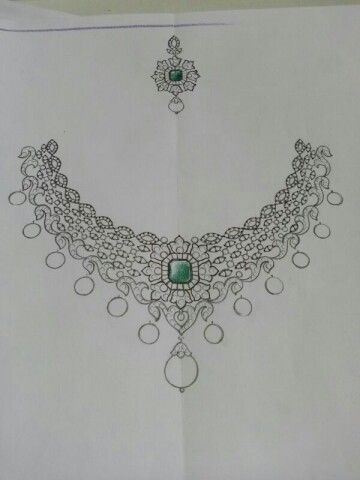 Jewell Scatch Bridal Jewellery Pinterest Sketches