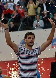 Bucharest - Grigor Dimitrov beats  Lukas Rosol 7-6(2) 6-1