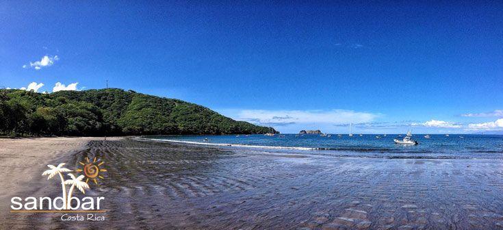 Like beaches? We've got one!  Sandbar is located in beautiful Playa Hermosa, Guanacaste, Costa Rica.  #CostaRica #PuraVida #Beaches #Playa #Vacation #Travel #Tropics #Tropical #Paradise #Guanacaste