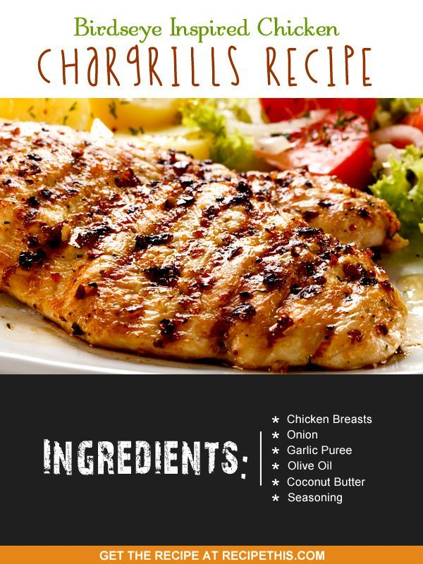 Copycat Recipes | Birdseye Inspired Chicken Chargrills Recipe