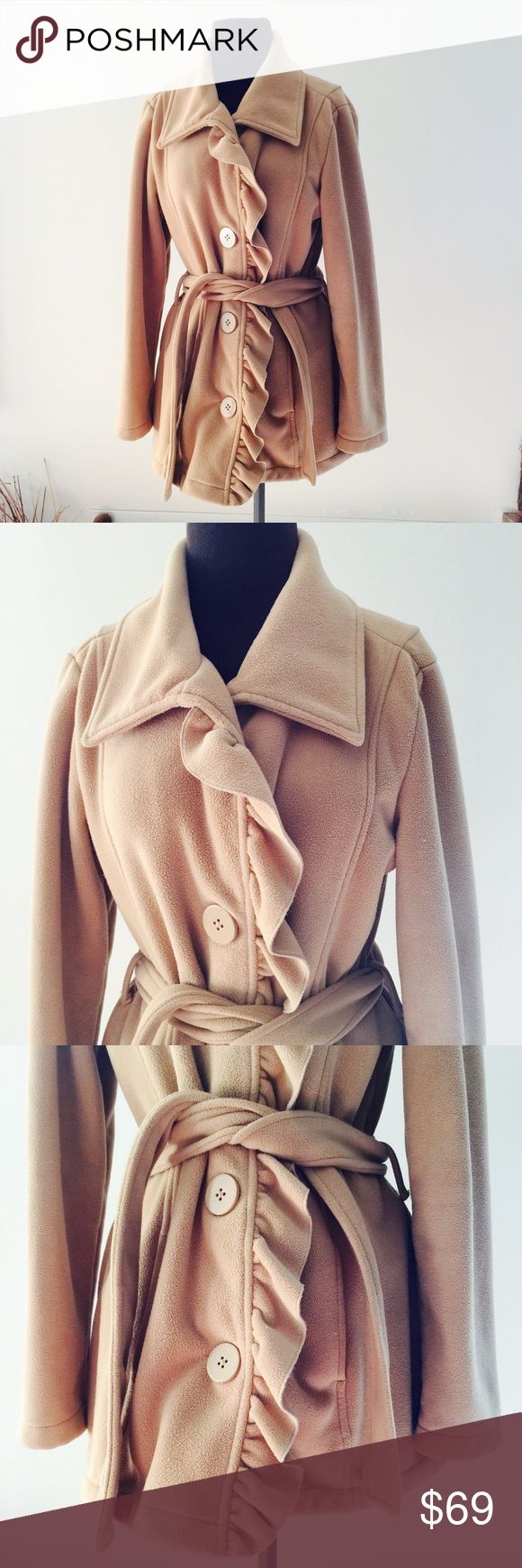 ❗Nordstrom British Khaki Ruffle Coat MSRP $120 ❗Nordstrom British Khaki Riffled Pea Coat. Size Medium in great condition! Retails $120. Make an offer! I consider all reasonable offers on items & give great bundle deals! Winter cleanout sale ;-) Nordstrom Jackets & Coats Pea Coats