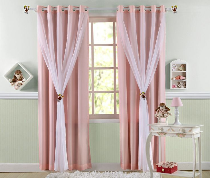 cortina infantil rosa neat idea curtains pinterest gardinen vorh nge und gardinen und. Black Bedroom Furniture Sets. Home Design Ideas