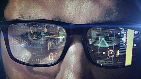 Virtual Reality Simulator, Cyberspace, Headset, Smart Glasses -…