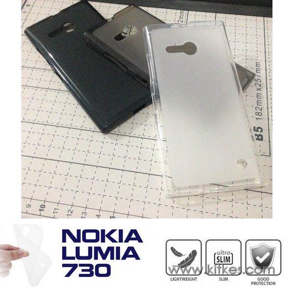 Matte TPU Soft Case Nokia Lumia 730 - Rp 50.000