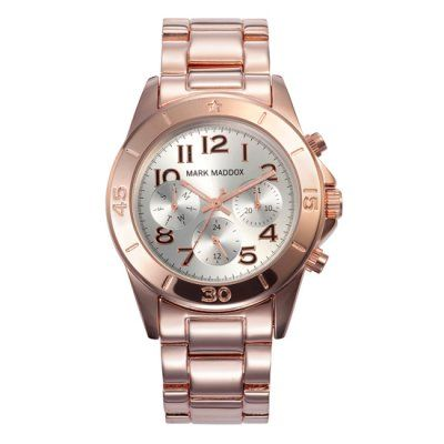 Mark Maddox - Ladies Chronograph Rose Gold Watch - MM3006-05 - Online Price £99.95