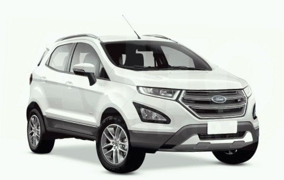 Ford EcoSport with a refreshed look in 2017