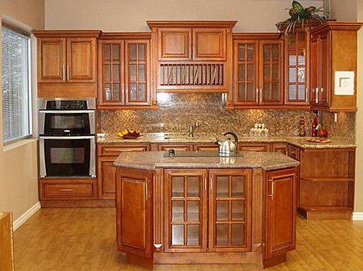 15 Brilliant Glazed Maple Kitchen Cabinets